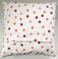 Cushion Cover in Emma Bridgewater Pink Pansy Wallflower16